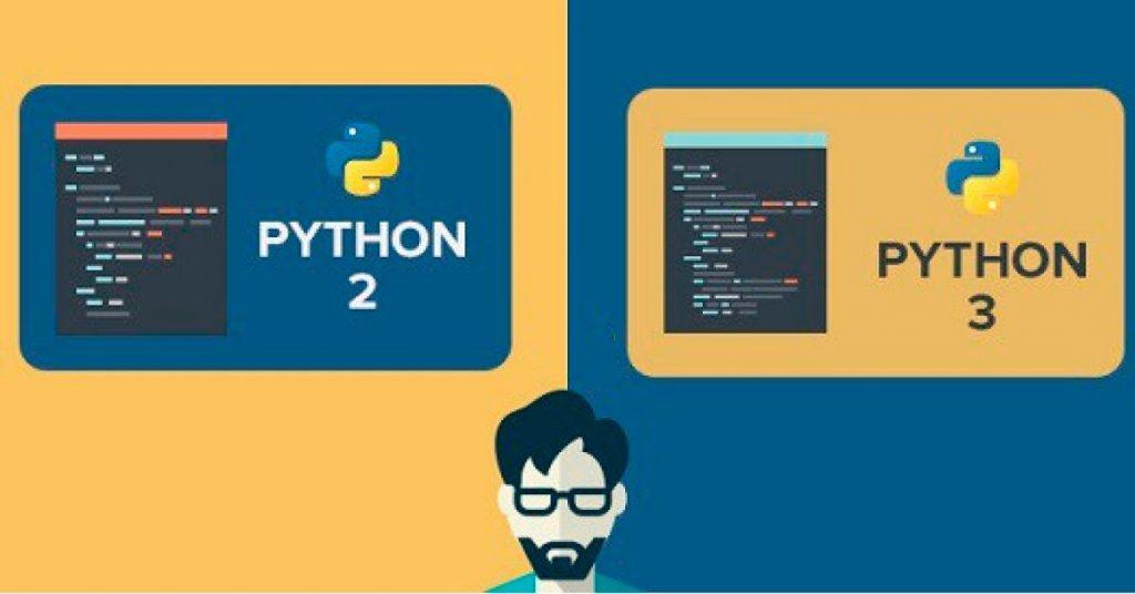 Diferencia entre Python 2 y 3 ¿Cuál debo aprender?   Codigo Correcto